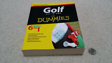 "NEW Golf All-in-One For Dummies (Wiley), soft cover, 676 pages, ""6 Books In 1"""