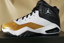 Nike Men's Air Jordan B'Loyal White/Black/Metallic Gold CT1603-100 Size 10 NIB