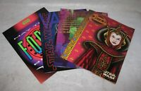 Lot of 4 Star Wars 2 Pocket School Folders
