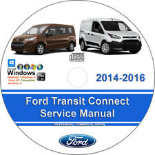 View 2011 Ford Transit Connect Service Shop Manual Set Oem Service Manual And The Wiring Diagrams Manual Pictures