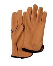 NWT Bills Khakis Men's Deerskin Fleece Lined Leather Driving Gloves - Saddle
