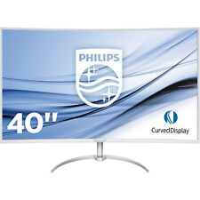 PHILIPS BDM4037UW/00 40 Zoll UHD 4K 4K Curved Monitor mit MultiView, Ultra-Wide-