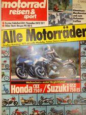 Motorrad Reisen & Sport 3 / 84, 1984, Vespa PK 80, Honda CBX 750, Suzuki GSX 750