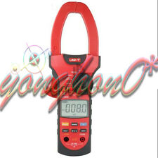 NEW UNI-T UT207A Clamp LCD Digital Multimeter AC DC Volt Amp Ohm Hz Tester