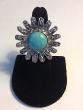 Natural Turquoise Ring (Expandable Size) - C-TR-8