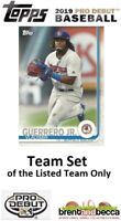 LOS ANGELES ANGELS 2019 Topps Pro Debut BASE TEAM SET (7 Cards) Adell-Suarez+
