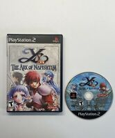 Ys: The Ark of Napishtim (Sony PlayStation 2, 2005) PS2 No Manual Fast Ship!!