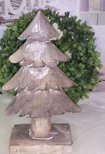 Tannenbaum Christmas Baum Weihnachten Deko Shabby Vintage 21cm
