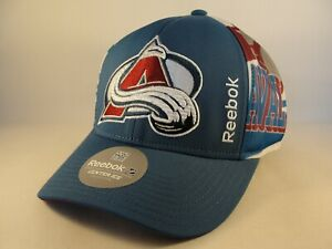 Colorado Avalanche NHL Reebok Snapback Hat Cap Blue Burgundy White