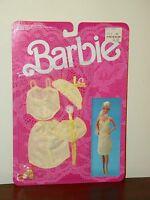 Vintage 1986 Barbie Fancy Frills Lingerie #3183 MOC Yellow Lingerie