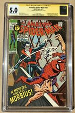 Amazing Spiderman 101 | 1st Morbius | Signed by John Romita - CGC 5.0 OW/W Pages