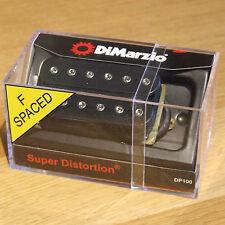 Dimarzio Super Distorsión recoger en Negro DP100F