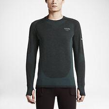 Nike x Undercover Gyakusou Long Sleeve Dri-Fit Knit Tee 728874 074 Black Size XL