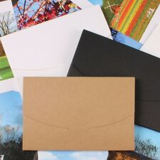10.5x16x0.5cm Kraft Paper Postcards Photo Picture Box for Wedding Party Gift