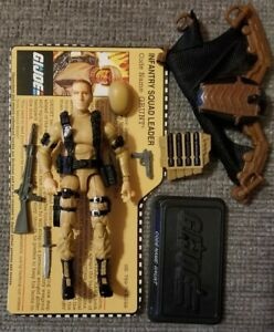 GIJoe FSS 1.0 25th Tan Grunt 2013 Collectors Club Exclusive Used Complete