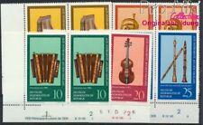 DDR 2224DV-2228DV mit Druckvermerk postfrisch 1977 Musikinstrumente (8927987