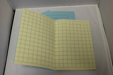 A5 Tinted Paper Square Exercise Books x3 Ideal For KS1 - Dyslexia SEN Pale Ivory
