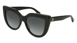 NEW Gucci Urban GG 0164S Sunglasses 001 Black 100% AUTHENTIC