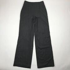 Cartonnier Anthropologie Gray Wide Leg High Waist Sailor Work  Pants sz 4