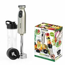 Salter EK2187 Salter NutriTwist Power Blender Smoothie Shake Maker, Titanium