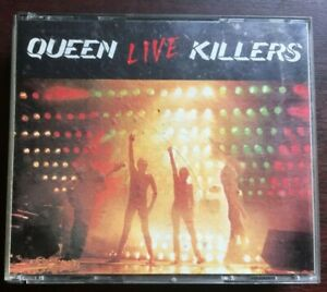 QUEEN - LIVE KILLERS -  DOUBLE CD FATBOX EDITION IN VGC.