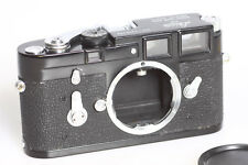 Leica M3  body black paint  after painted