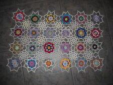 Beautiful Floral Hand Crocheted Doily Runer HI-245