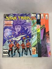 Star Trek 22 23 24 26 27 DC Comics Kirk Spock McCoy TOS 5 Comic Lot VF 1980s