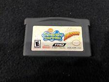 Original Nintendo Gameboy Advance Video Game: Spongebob Squarepants Super Sponge