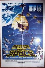1978 MESSAGE FROM SPACE~ EVIL EMPIRE ~ OUTER SPACE ~MOVIE POSTER 1 SH OR