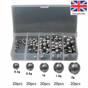 20 X 3oz BOMB FISHING WEIGHTS WITH TOP GRADE STAINLESS LOOPS..back by request