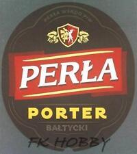 Poland Brewery Lublin Perła Porte Beer Label Bieretikett Etiqueta Cerveza lu53.1