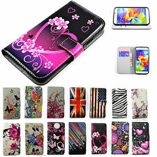 Folding Wallet Leather Case Cell Phone Soft Flip Cover Stand For Samsung Galaxy