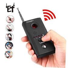 RF Detector & Camera Finder Anti-spy Hidden Camera Bug Sweeper GPS Audio Scanner