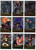 1995 Fleer Marvel Metal Silver Flashers Flasher Card You Pick Finish Your Set