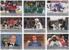 2016-17 SP Authentic Moments 15 Cards Complete Set Break - Pick Any