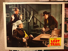 The Lost Trail 1945 Monogram western lobby card Johnny Mack Brown Kenneth MacDon
