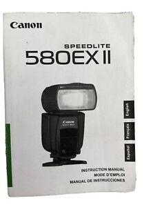 Instruction Manual Canon Speedlite 580ex2