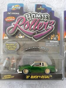 JADA HOMIE ROLLERS 87 buick regal Green with Pin Striping EightBall laughing boy