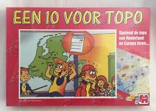 EEN 10 VOOR TOPO Game NEW Netherlands Geography Map Educational Jumbo