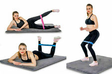Resistance Bands Yoga Exercise Gym Straps Pilates Stretch Physio UK 5X Loop Set