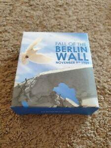 2009 1oz Silver Proof Coin - Fall of the Berlin Wall November 9th 1989