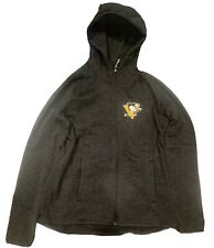 Pittsburgh Penguins Women's  Medium Hoodie NHL Hockey Sweater Medium Black Gold