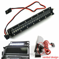 44 Leds LED Light  Super Bright Roof Bar for 1:10 RC Car Crawler SCX10 D90 TRX-4