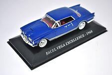 Voiture modèle réduit collection 1/43ème Facel Vega Excellence de 1960