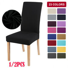 Stretch Chair Covers Slipcovers Spendex Seat Cover For Home Dining Wedding Decor