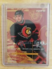 1995 Fleer ROOKIE RC Radek Bonk Ottawa Senators Card #142