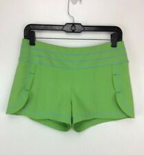 ATHLETA Running Active Shorts Lime Green S