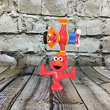 """Sesame Street Ernie And Elmo 2.5"""" Tall Stackable PVC Figures / Cake Toppers"""