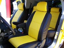 TOYOTA FJ CRUISER 2007-2010 IGGEE S.LEATHER CUSTOM FIT SEAT COVER 13COLORS